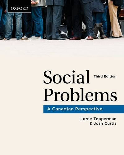 Social Problems: A Canadian Perspective