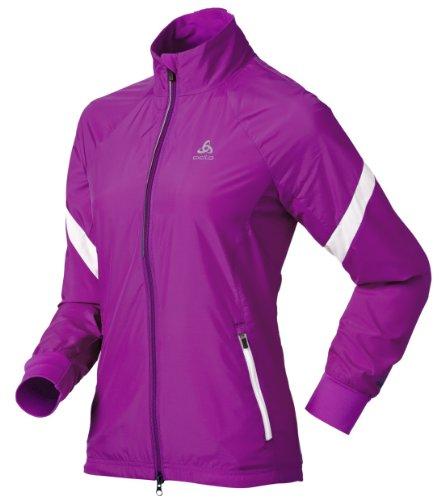 Odlo Damen Skijacke Skate, violet pink - snow white, XS, 611831