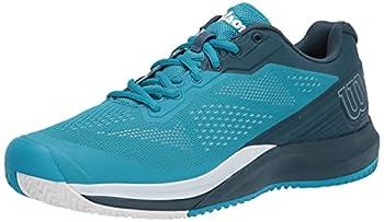 Wilson Men s Rush PRO 3.5 Tennis Shoe Barrier Reef/Majolica Blue/White 11