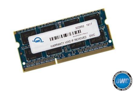OWC 8 GB (1 x 8 GB) 1867 MHz DDR3 SO-DIMM PC3-14900 204-Pin-CL11-Speichererweiterung (OWC1867DDR3S8GB)