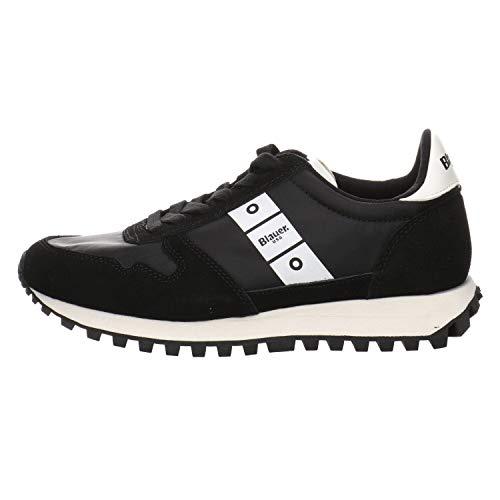 Blauer Scarpe Sneaker Running Merrill Suede/Nylon Black DS21BU01 37