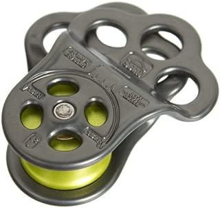 DMM Triple Attachment Pulley / Hitch Climbing 30kn(bright Light Titanium) Pul100blt