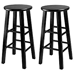 Winsome 24-Inch Square Leg Counter Stool