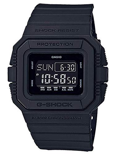 Casio Herren Digital Quarz Uhr mit Harz Armband DW-D5500BB-1ER