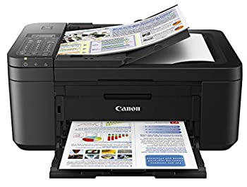 Canon PIXMA TR4520 Wireless All in One Photo Printer with Mobile Printing Black Works with Alexa