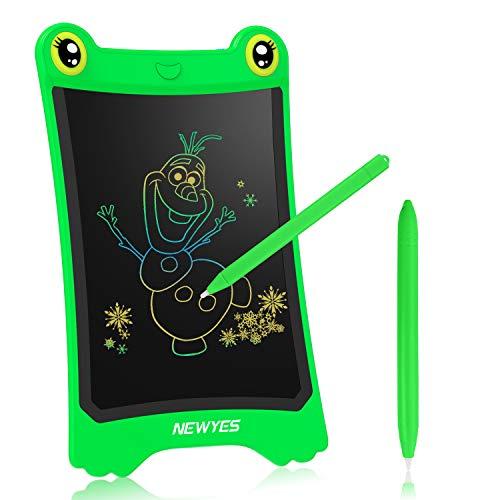 NEWYES Pizarra electrónica | Tableta de Escritura LCD | Tablet Dibujo para niños. Ideal como Pizarra Digital para Aprender a Leer y Escribir | Juguete Educativo 8.5