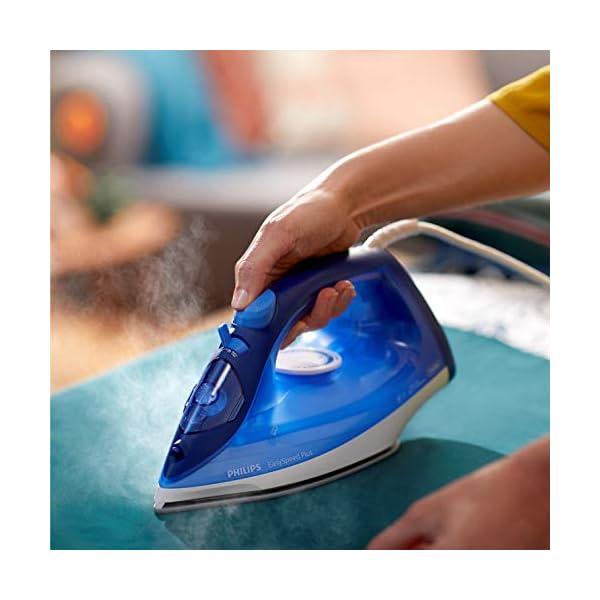 Philips GC2145/20, 2100 W, 0.27 litros, cerámica, Azul, Blanco