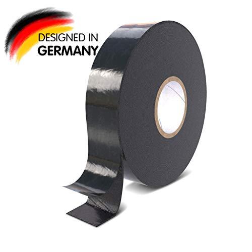 Rietlow Doppelseitiges Klebeband Extra Stark - Universal Montageband aus widerstandsfähigem PE-Schaum - Schwarzes Doppelseitiges Klebeband 30mm x 10m - Verbessertes Konzept 2020