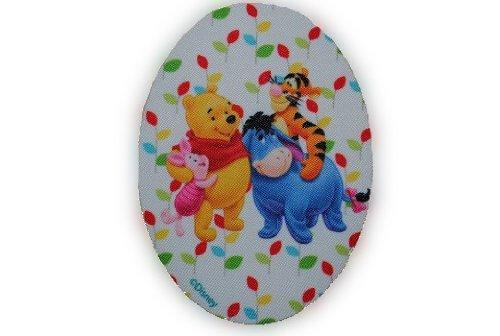 alles-meine.de GmbH Winnie The Pooh 8 cm * 11 cm Bügelbild Aufnäher Applikation Bär Bear Puuh