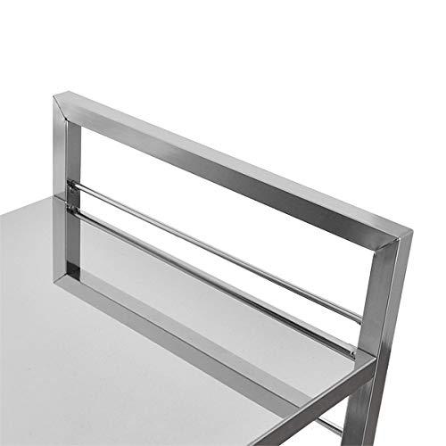 足立製作所『FRAMES&SONSステン天板キッチンワゴンDS06-1392』