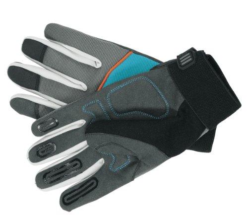 Gardena Gerätehandschuh: Handschuhe für alle Arbeiten mit Geräten, Gr. 10/XL, atmungsaktiver Handrücken, optimaler Tragekomfort dank stoßdämpfender Pads und griffiger Innenfläche (215-20)