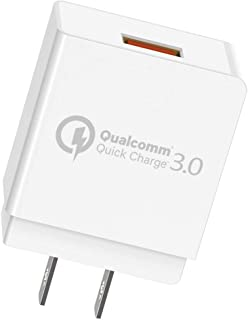 Quick Charge 3.0 Cargador de pared USB Quick Charger con Qua