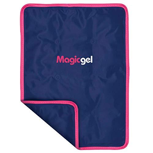 Bolsa de gel frío para lesiones. Compresa gel hielo reutilizable de tamaño grande para hinchazón, alivio del dolor, fisioterapia y recuperación más rápida, de Magic Gel