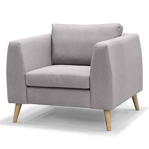 Amazon Marke -Movian Dofsan - Sessel, 100 x 93 x 86 cm, Grau