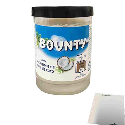 Bounty Brotaufstrich mit Kokosnussflocken (200g Glas) + usy Block