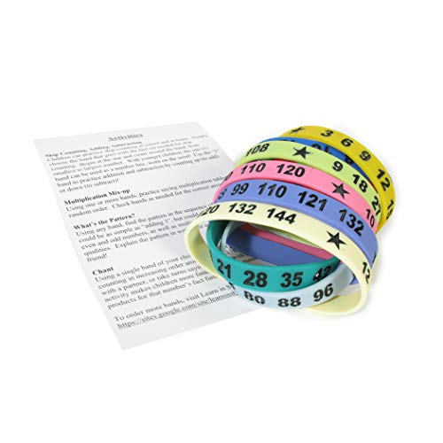 American Educational Products Math Bands, Set of 12