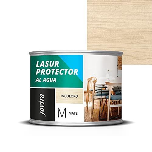 LASUR PROTECTOR AL AGUA MATE Protege, decora y embellece todo tipo de madera. (375 ml, INCOLORO)