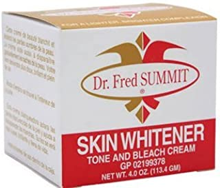 Dr. Fred Summit Skin Whitener Tone and Bleach Cream 4oz
