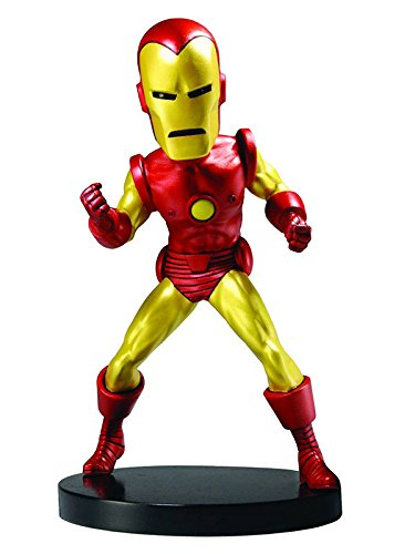 Head Knocker - 8 Inch (Unisex-) Iron Man (Multicol)