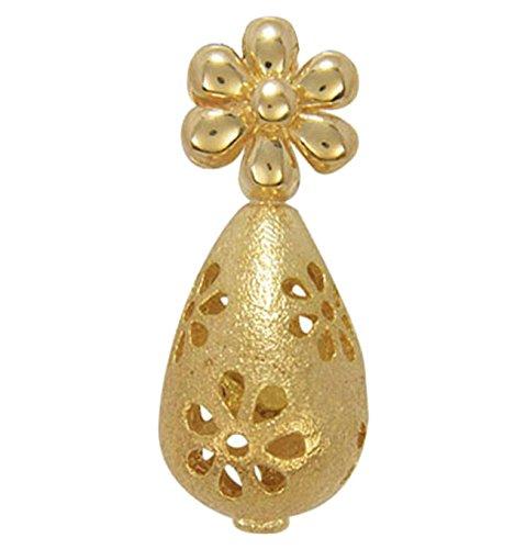 Blossom Copenhagen Charm Motiv: Kegelform mit Blume Farbe: Gold Material: Sterling Silver / vergoldet Anhänger für Kette.
