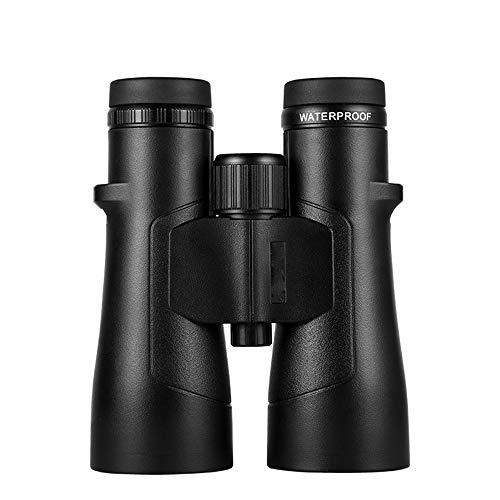 Jumelles IPX8waterproof HD 12X50 Ed lentille Multi-enduction Vision Nocturne Optique remplie d'azote télescope Zoom Jumelles pour Chasse en Concert,12x50