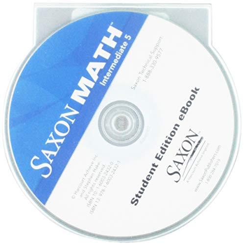 Saxon Math Intermediate 5: Student Edition eBook CD-ROM 2008