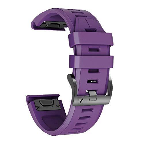 NotoCity Cinturino per Garmin Fenix 6/Fenix 6 PRO/Fenix 5/Fenix 5 Plus/Forerunner 935/945, 22mm Cinturino di Ricambio in Silicone, Braccialetto Quick-Fit, Colori Multipli.