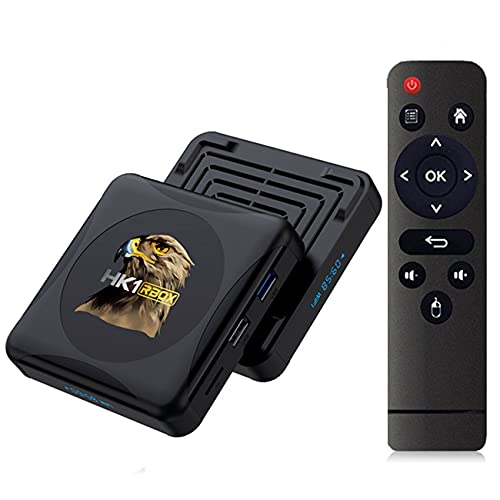GEQWE Android TV Box, HK1RBOX R1 Android TV Box 10.0 4GB RAM...