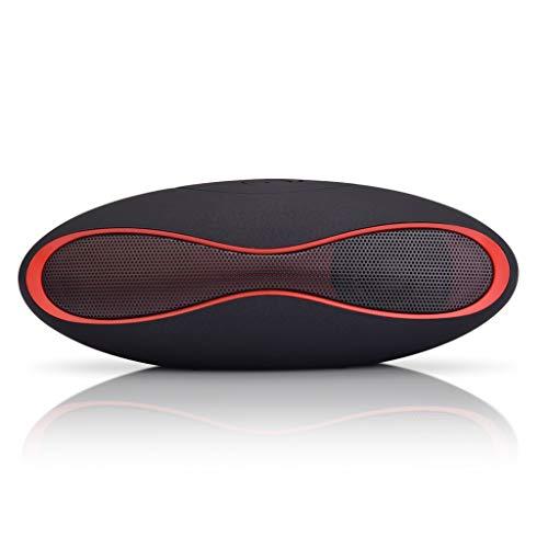 Chongbeier Mejor Altavoz inalámbrico Bluetooth Rugby Shape Mini Super Bass portátil para teléfono Inteligente Tablet