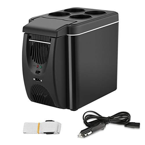 cheerfulus-123 - Mini refrigerador de 12 V para Coche, refrigerador y Calentador de 6 L, refrigerador de Viaje portátil para Nevera eléctrica