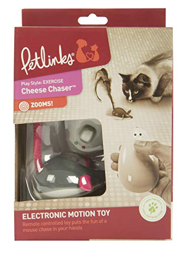 Petlinks Electronic Motion Cat Toys, Cheese Chaser