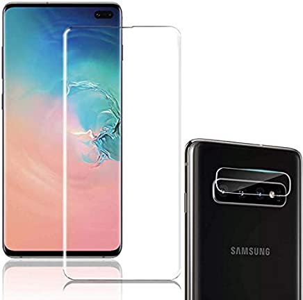 Galaxy S10 Plus Screen Protector Tempered Glass[6.4