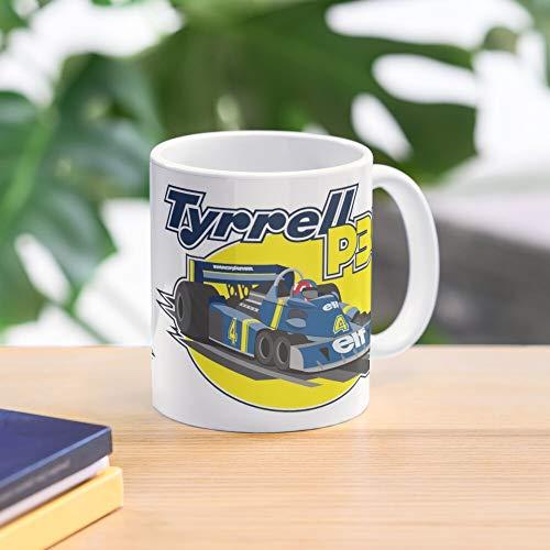Tyrrell P Meistverkaufte Standardkaffee 11 Unzen Geschenk Tassen für alle
