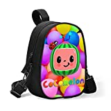 Vin Win Cocomelon Insulated Baby Bottle Bag for Daycare Size Upgrade Breastmilk Cooler Bag Baby Bottle Tote Bags,Easily Attaches to Stroller Insulated Lunch Box Cooler Bag