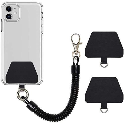 COCASES Cadena de Teléfono Móvil Cable Espiral Flexible,...