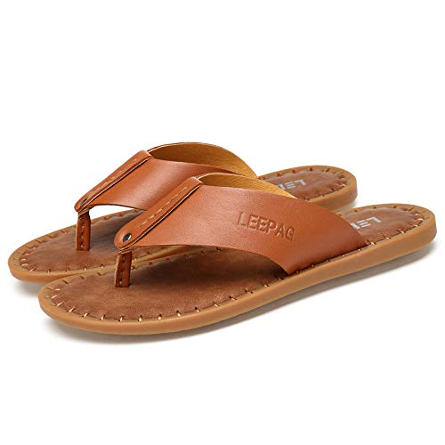 Slim Zehentrenner,Classic Unisex-Erwachsene Flip Flops,Soft Bottom Flip Flops, Flip Flops-braun_39