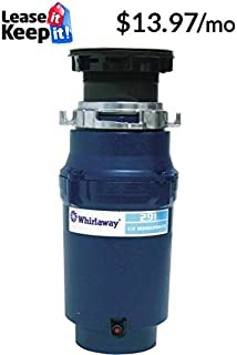 Anaheim 291-pc Whirlaway Garbage Disposal with Plug, 1/2 hp