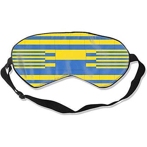 Blindfold, Oekraïne vlag Aantrekkelijke bedrukte oogbedekkingen voor het slapen thuis