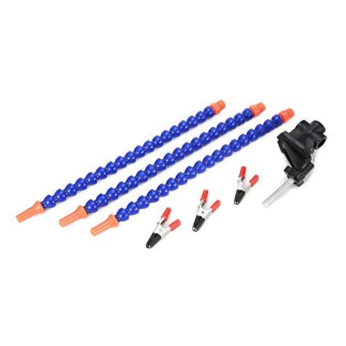 Helping Hands Seltsam Arme Löten Reparatur Montage Schweißen Werkzeuge Schraubstock Tischklammer-Station 3pcs Flexible Drehbare & (Farbe: blau)