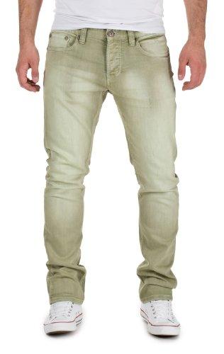 M.O.D Jeans Herren Hose by Monopol Jeans H/M 2013 Star MOD 8571 grün D.G