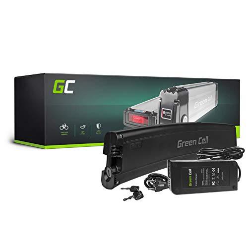 Green Cell® E-Bike Akku 36V 7.8Ah Li-Ion E-Faltrad E-Folding Batterie mit Ladegerät für Chrisson, Dawes, Fischer, Navigata, NCM, ZTECH
