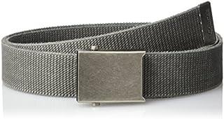 حزام شبكي عسكري للرجال والفتيان قابل للتعديل من القطن مع مشبك معدني من كولومبيا، مقاس واحد