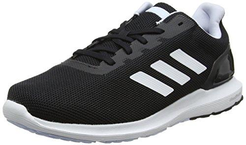adidas Cosmic 2, Zapatillas de Running Mujer, Negro (Core Black/FTWR White/Aero Blue S18 Core Black/FTWR White/Aero Blue S18), 44 2/3 EU