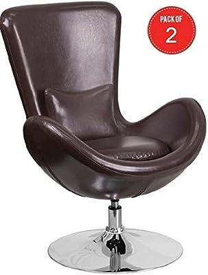 Amazon.com: Hebel Agoura Armless Accent Chair | Model ...