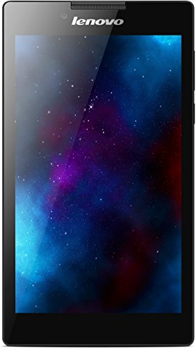 Lenovo Tab 2 A7-30 17,8 cm (7 Zoll IPS) Tablet (ARM MTK 8382 QC, 1,3GHz, 1GB RAM, 16GB eMMC, 3G, GPS, Touchscreen, Android 4.4) schwarz