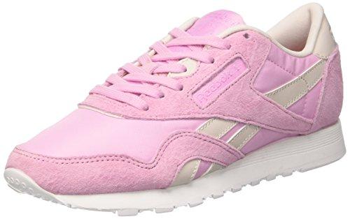 Reebok Damen Classic Nylon X Face Sneakers, Pink (Vision/Kindness), 39 EU