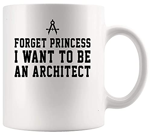 N\A Arquitecto Arquitectura Taza Copa Quiero ser Arquitecto Arquitectura Señora 11oz Copa