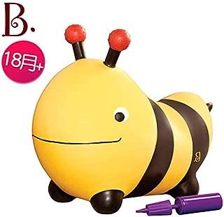 大ハチミツ ボンボン 幼児 バルーン トイ おもちゃ ベビー バランス 遊具 乗用玩具 (正規流通品) (大ミツバチ)