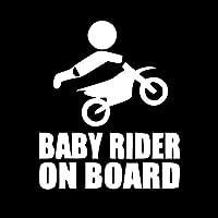 Shaoyong オートバイの車のステッカー車のオートバイのライダーレーザーステッカー赤ちゃんステッカー車ステッカー13x11cm (Color : 3)