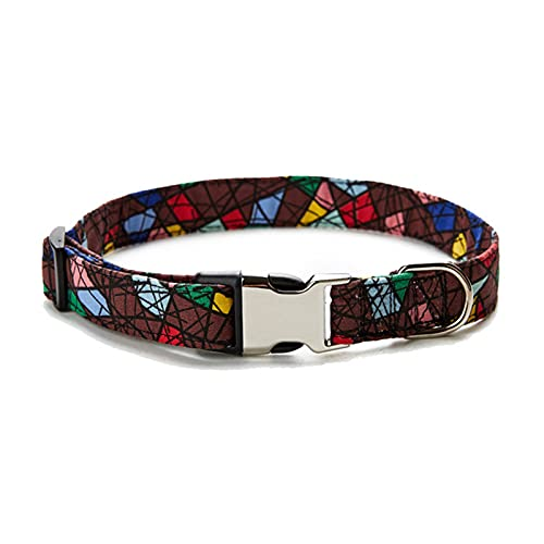 Chuanhao Pet Collars Pet Products Ethnic Patterns Personalized Semi-Metal Cotton Cloth Collars Safe and Durable